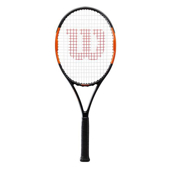 Wilson Nemeisis Open 2.0 Tennis Racquet Black / Orange 4 3/8 in, , rebel_hi-res